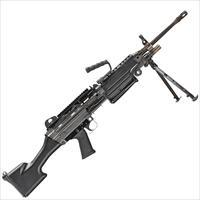"FNH M249S Belt/Magazine Feed 5.56 NATO 18.5"" Barrel Picatinny Rail Folding Bipod Fixed Stock! LAYAWAY AVAILABLE!"