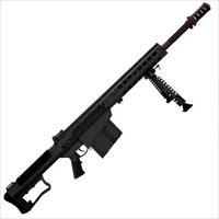 "SALE!!! Barrett M107A1 Semi Auto Rifle .50 BMG 20"" Fluted Barrel 10 Rounds Fixed Stock Black! LAYAWAY AVAILABLE!!"