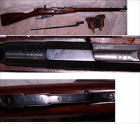 Rare Hex Mosin Nagant in 7.62x54