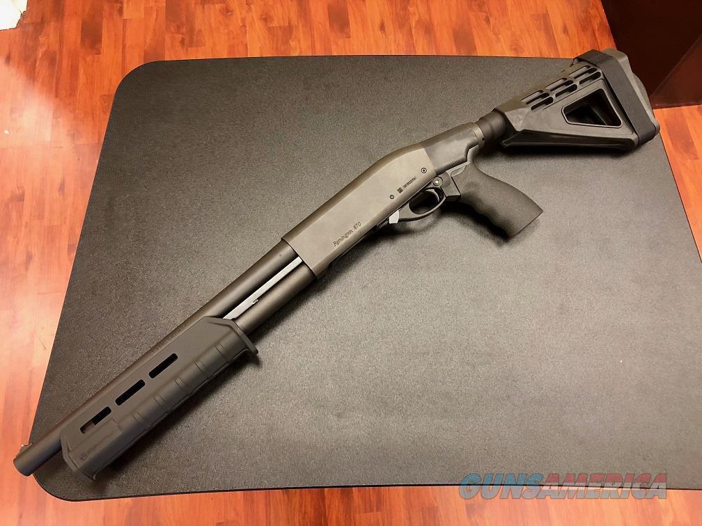 Remington 870 TAC-14 12GA Firearm with NFA compliant Brace
