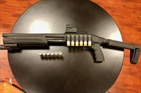 Mossberg 590 Shockwave with SB Tactical NFA compliant brace & accessories