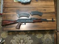 AK 47 WASR 10 with Refinished Stock/Handguard and Upgraded Grip