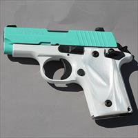 (Free Shipping!!!) Robins Egg Blue & Pearl Sig Sauer P238