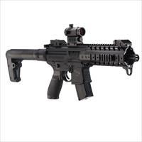 Sig Sauer MPX ASP RED DOT, CO2 Rifle .177 CAL Pellets , NEW IN BOX