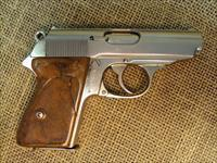 Very Rare Walther PPK-RZM Satin Nickle Finish,Special made for the NAZI Party