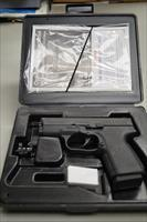 KAHR ARMS  KAHR PM 45  45 ACP STAINLESS STEEL BLUE PISTOL WITH BOX AND ALL PAPERS