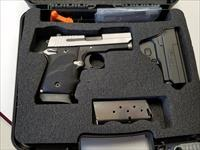 Sig Sauer P938 Blackwood Micro-compact  Bi-Tone w/ box, 2 mags, holster and extra grips!!!!