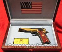 Colt 1911 Commemorative-The American Eagle Tribute Pistol in 45ACP NIB w Walnut Case