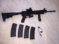 Spikes Tactical AR-15 With Military Spec, BAR, 4 Magazines, Case and UTG Accessories