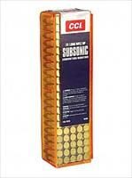 CCI/Speer Subsonic, 22LR, 40 Grain, Lead Hollow Point, 100 Round Box 56