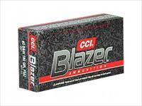 CCI/Speer Blazer, 40 S&W, 180 Grain, Full Metal Jacket, 50 Round Box 3591
