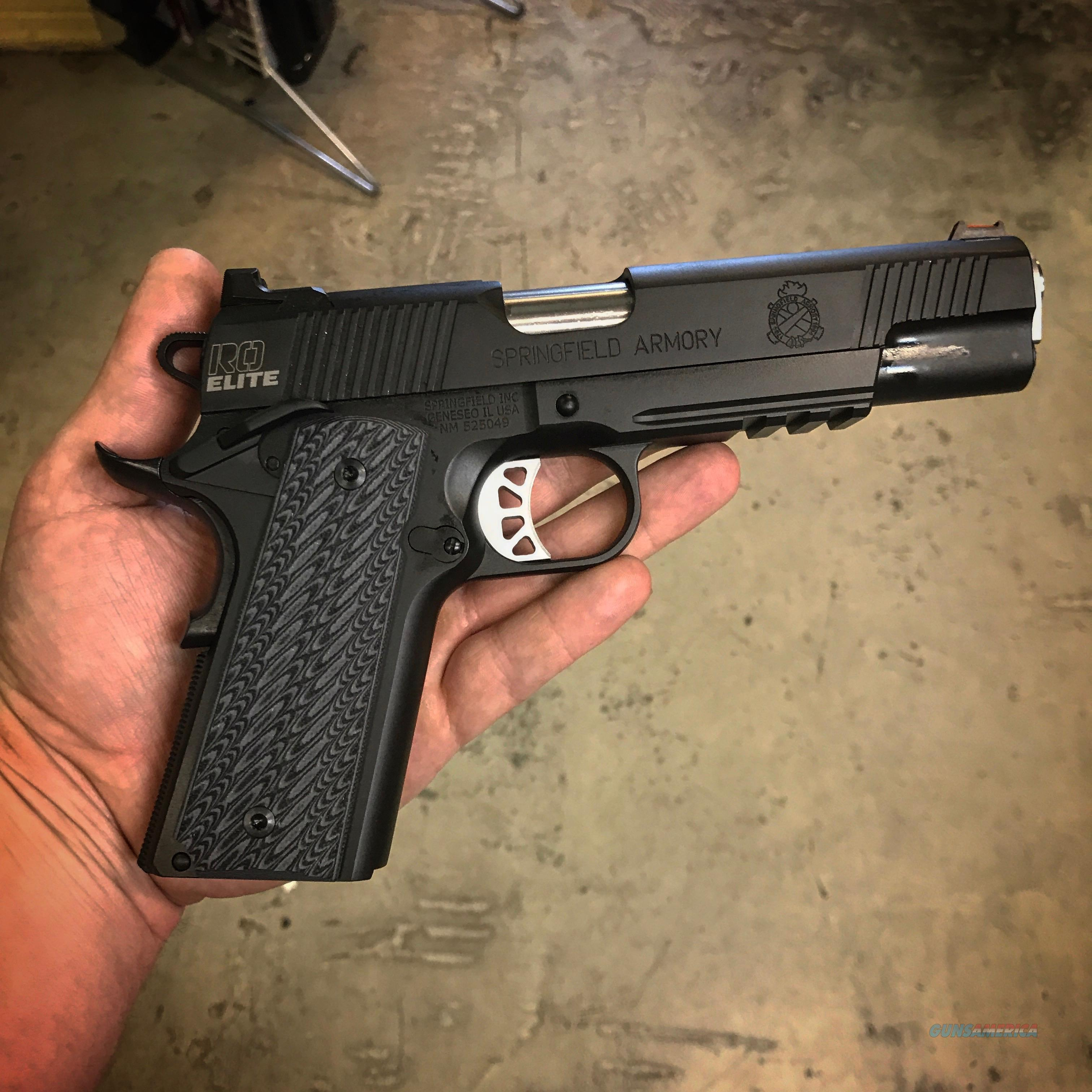 Springfield Operator 1911 10mm – Name
