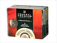 Federal Personal Defense, Hydra-Shok, 9MM, 135 Grain, Jacketed Hollow Point, Low Recoil, 20 Round Box PD9HS5H