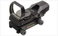 Truglo Red Dot, Black, Multiple Reticle TG8360B