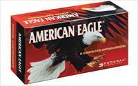 Federal American Eagle, 9MM, 115 Grain, Full Metal Jacket, 50 Round Box AE9DP