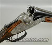 Nicely Engraved FRANCOTTE SXS Shotgun in Case with 28 Inch Barrels