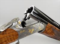 CAESAR GUERINI Elite Dealer Limited Edition ELLIPSE CURVE GOLD Sporting 12 Gauge Shotgun with OUTSTANDING WOOD and 32 Inch Barrels