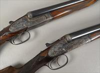 MATCHED PAIR of VICTOR SARASQUETA 12 Gauge Sidelock Shotguns