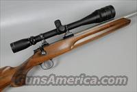 COOPER Model 21 Rifle in 17 Mach IV with an 8 X 32 Burris Target Scope