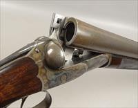 Early LINDER CHARLES DALY SXS Shotgun with 30 Inch Damascus Barrels ANTIQUE