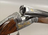 OUTSTANDING Angelo Bee Engraved FN SXS 2 Barrel 20 / 28 Gauge Shotgun with Hollywood Movie Star Association