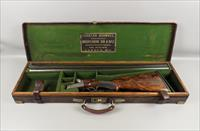 Cased Charles Boswell London Side By Side 12 Gauge Shotgun