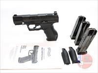 "Walther P99 9mm 4"", Tru Dot Night Sights, Original Hard Case"