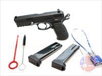 "Used CZ 75 SP-01 9mm 4.6"", Black, Night Sights, Original Hard Case"