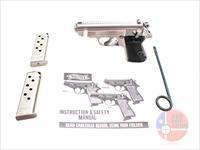 "Walther PPK/S .380ACP 3.3"", Stainless, Original Box and Paperwork"