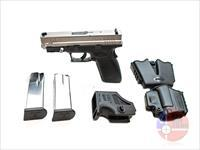 "Unfired Springfield XD .45ACP 4"", Stainless/Black, Original Hard Case"