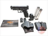 "Springfield XDm 9mm 4.5"", Trijicon NS, Springer Trigger Kit, Hard Case + More"
