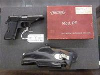 Walther PP 32acp / 7.65mm with Original box, paperwork, 2 mags