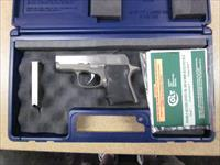 Colt Pocket Nine 9mm Stainless Like New in the box