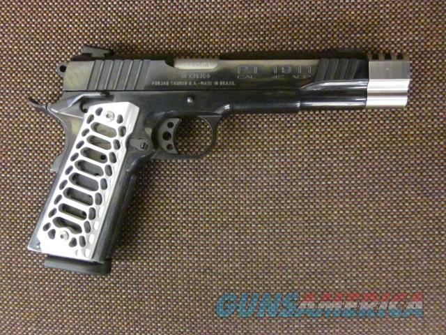 Customized Taurus PT1911 CNC Grips and Compensator