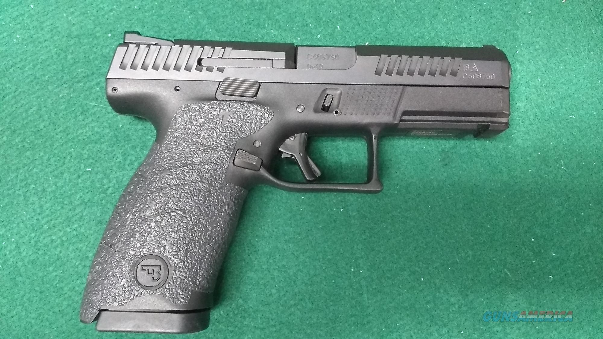 CZ P10C Pistol 9mm - Two 15rd  Mags - Kydex Holster