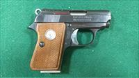 Junior Colt pistol chambered in 25ACP.