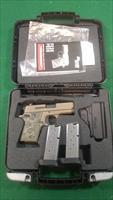 Sig Sauer 938 Scorpion 9mm - FDE - Three mags