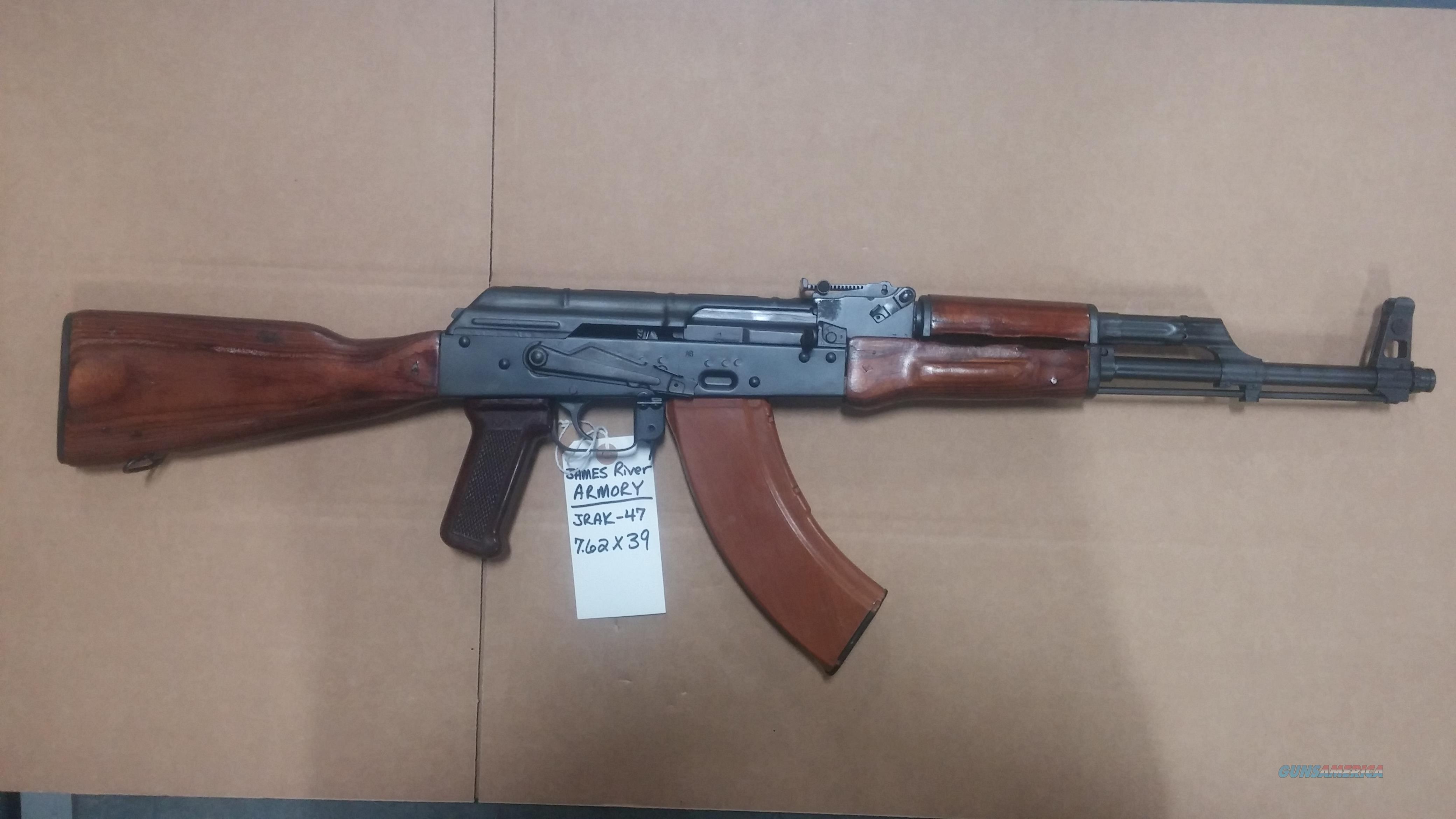 1968 RUSSIAN IZZY AK47 BUILT BY JAMES RIVER AK-47