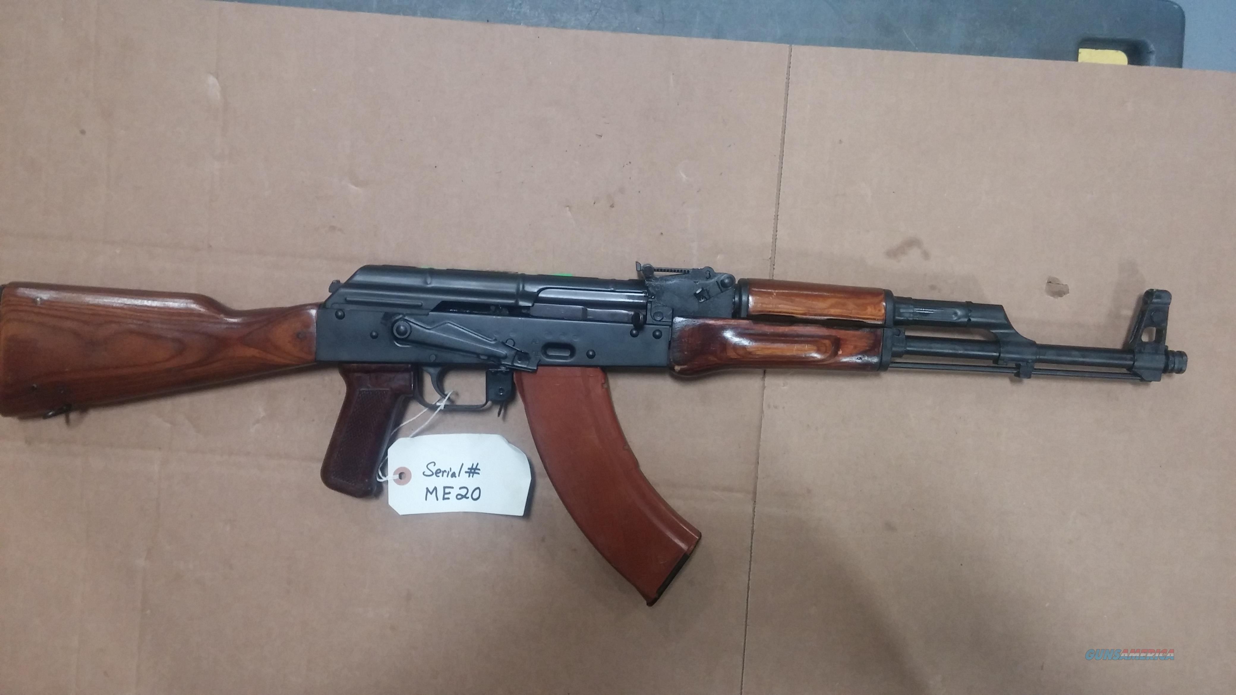1968 RUSSIAN TULA AK47 BUILT BY JAMES RIVER AK-47