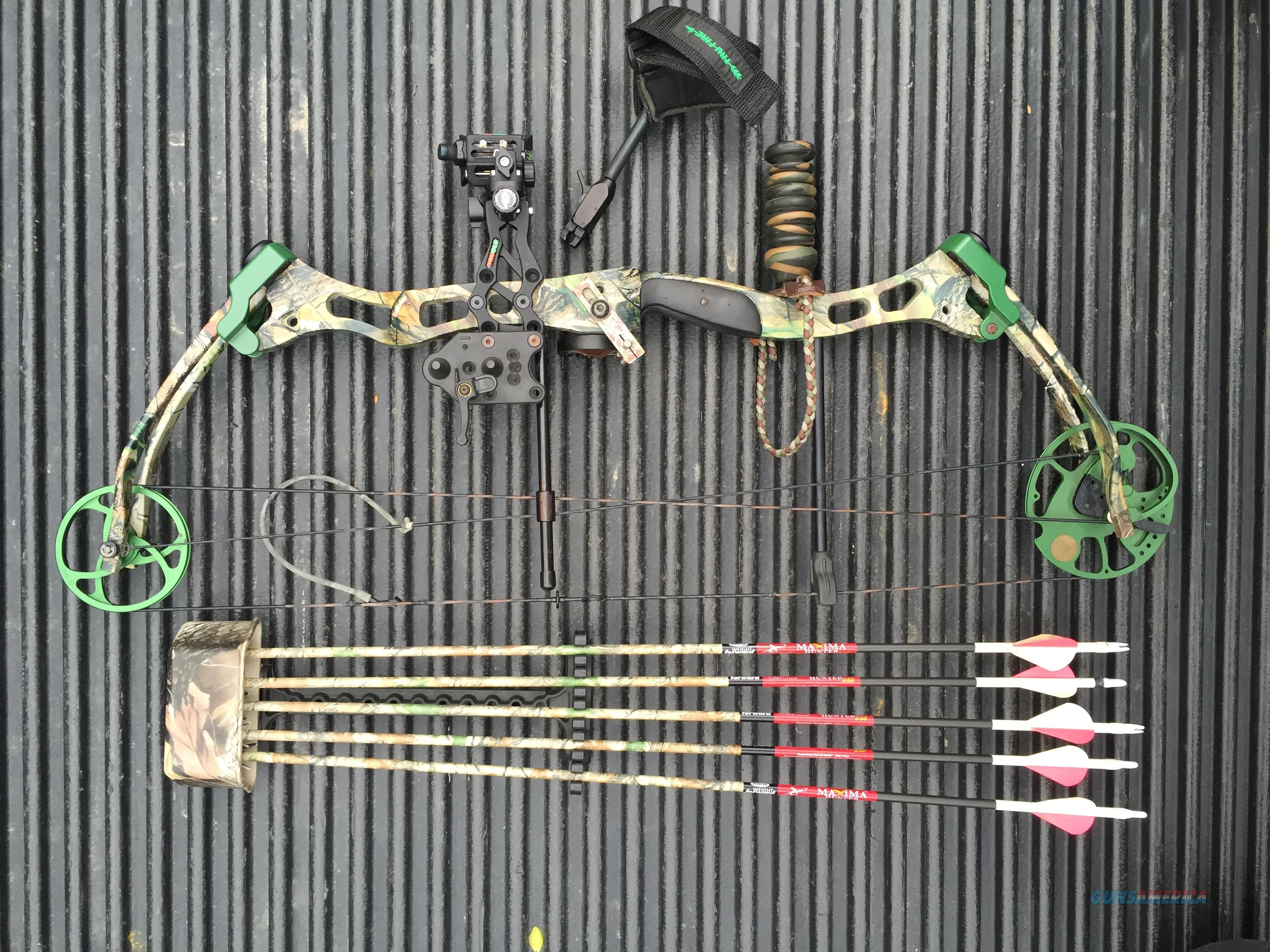 Bear Lights Out Compound Bow For Sale