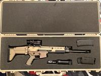FN SCAR 16 FDE - NIB RIFLE ONLY OR SET IN PICTURE?
