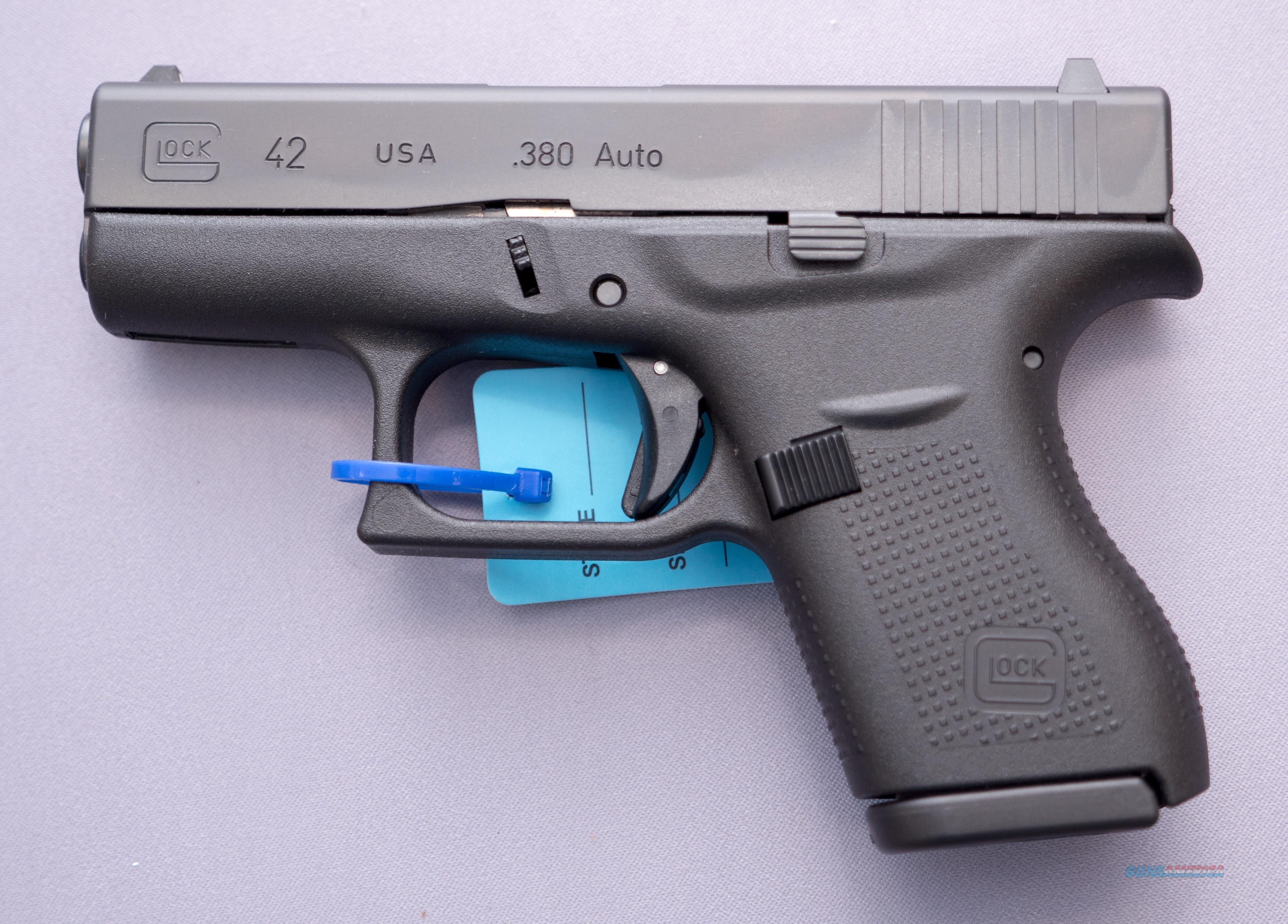 Glock 42  380 ACP 6+1 Free Shipping NO CC FEEs