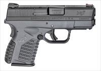 "Springfield Armory XDS9339YE XD-S 9mm Single 3.3"" Gray Polymer Grip"