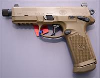 FNX-45 Tactical DA/SA MS FDE/FDE (3) 15-Rnd Night Sight  FREE SHIPPING   NO CC FEEs