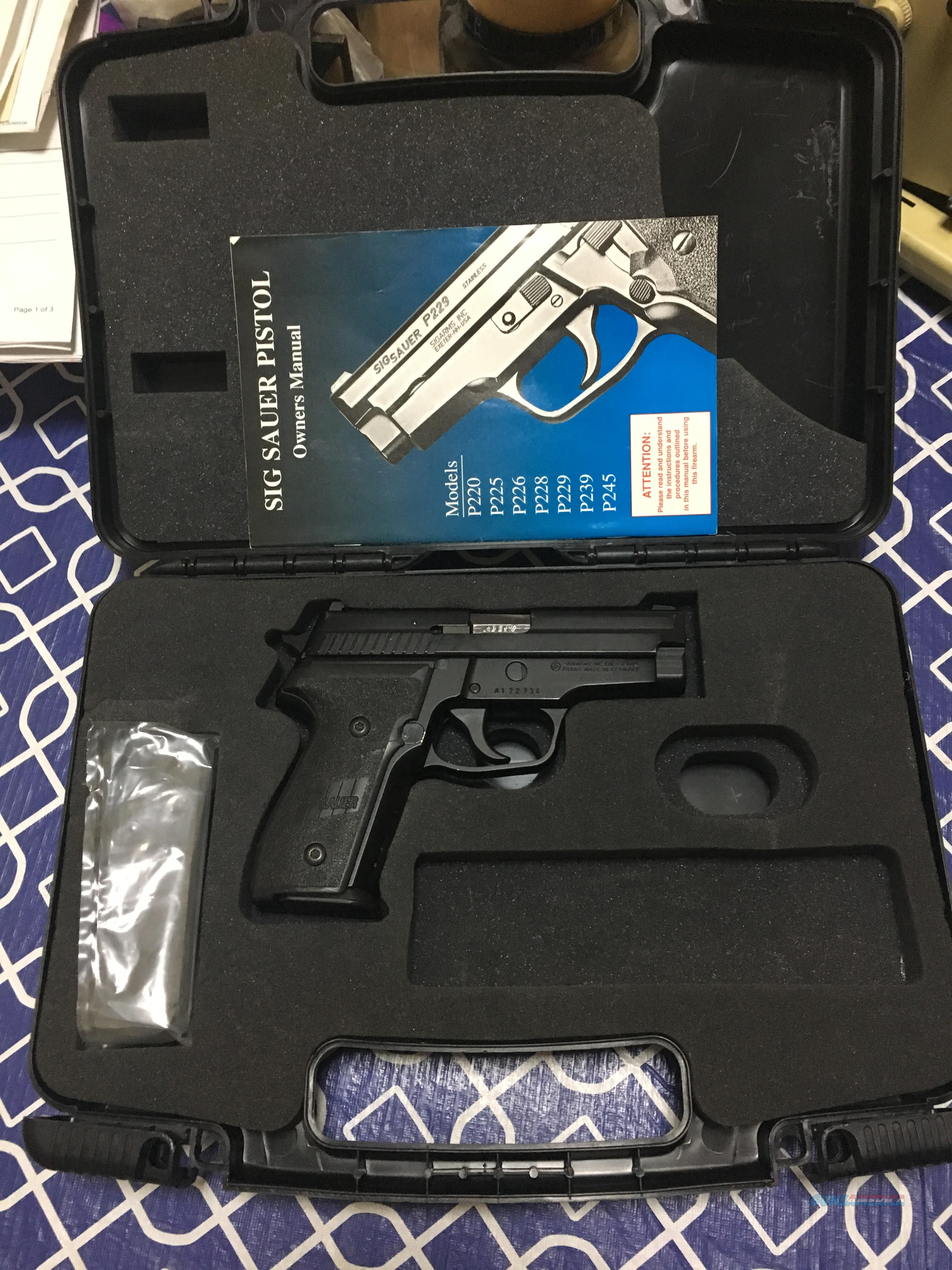 sig p229 owners manual best setting instruction guide u2022 rh ourk9 co sig sauer owners manual sig sauer instruction manual