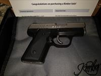 Kimber Model Solo 9mm New in Box