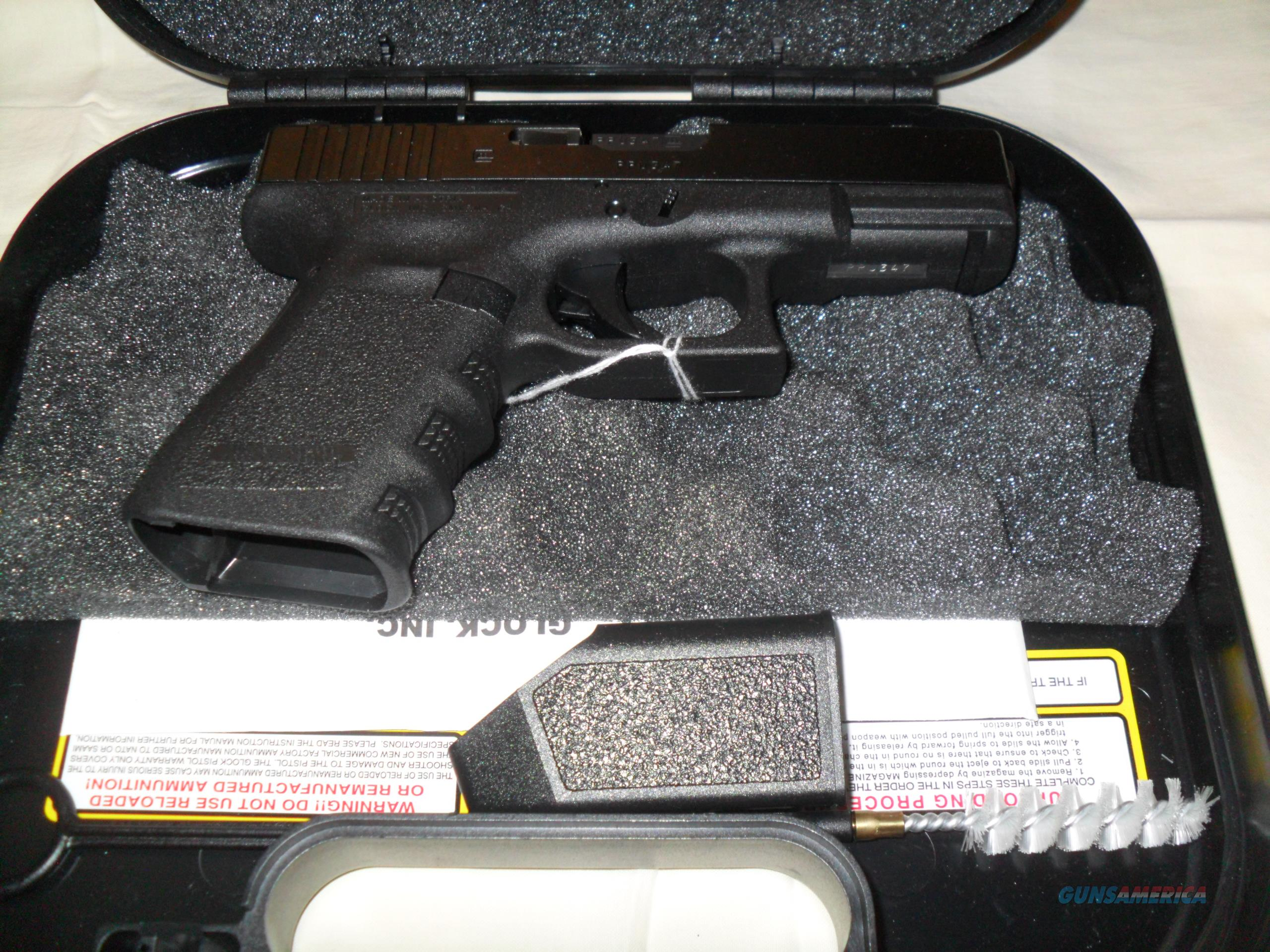 Glock Model 19 9mm 4th Gen