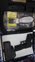 Sig arms P 250 .40 cal, extra clip, as new in the box, safety lock, papers.