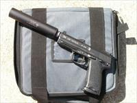 Hk USP Tactical .45 w/ AAC Tactical .45 Suppressor