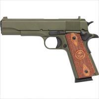 Iver Johnson 45 ACP O.D. Green Cerakote finish NO CC FEES